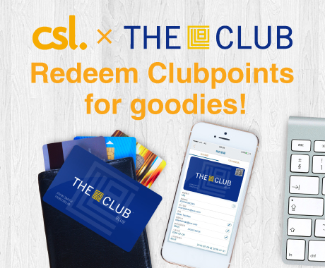 The Club: Redeem Clubpoints for goodies
