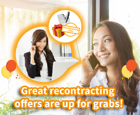 Recontracting offers are up for grabs!