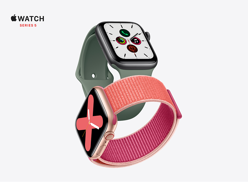 Learn More About  Apple Watch Series 5