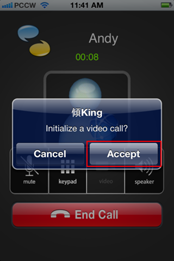 "Select a contact number from Contracts in the ""KingKing"" application (""KingKing"" reads and presents your phone Contacts)"