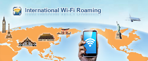 Internetional Wi-Fi Roaming