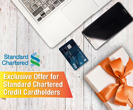 Exclusive Offer for Standard Chartered Credit Cardholders