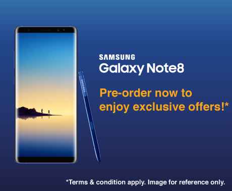 Samsung Galaxy Note8 – Pre-order now