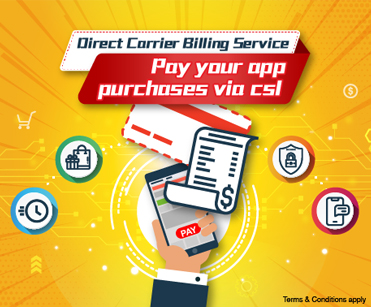 csl Direct Carrier Billing