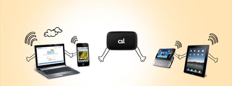 4G LTE Mobile Broadband   csl